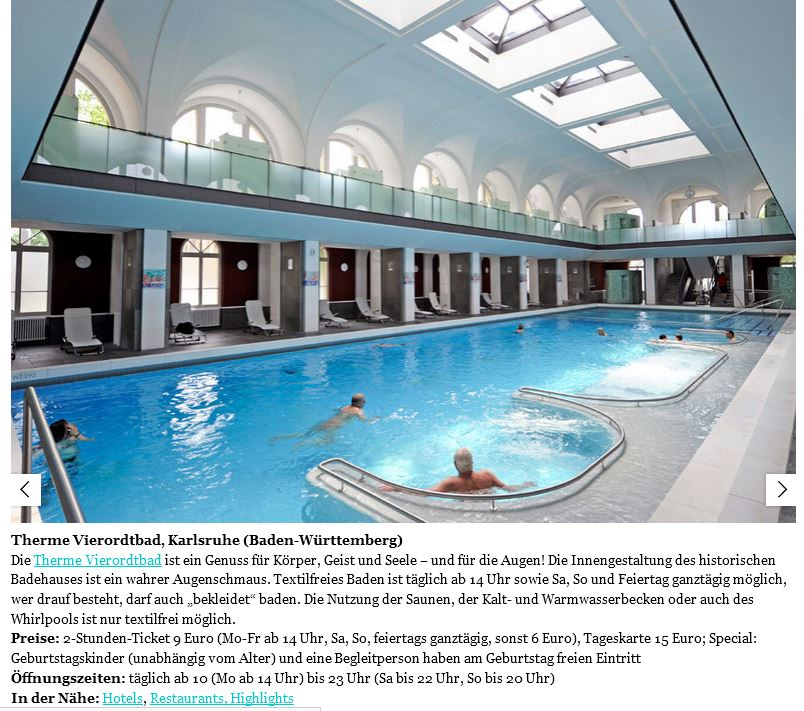 Therme vierordtbad, karlsruhe